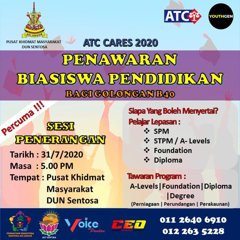 Bantuan Dermasiswa Pengajian Tinggi Dari Lembaga Zakat Selangor