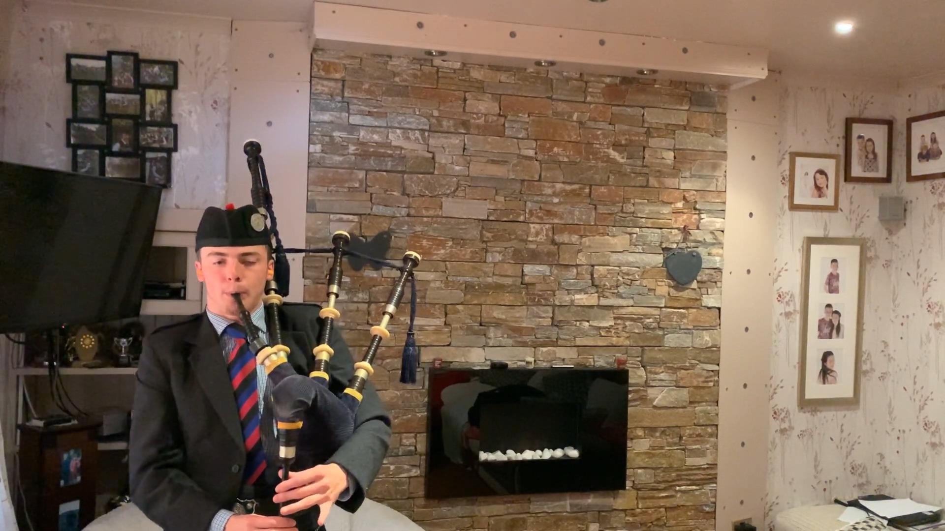 Cameron May, Lesmahagow: Lament for Captain MacDougall