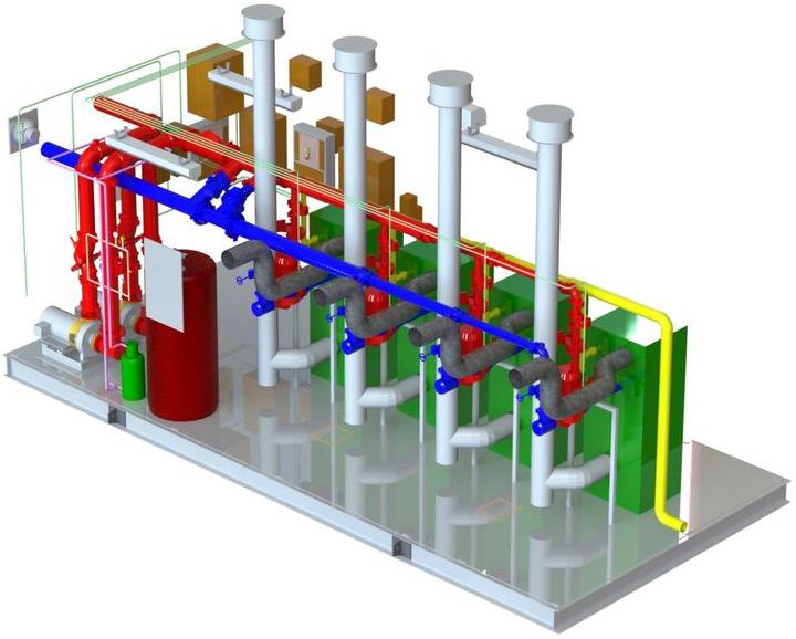 Boiler-Pak Isometric