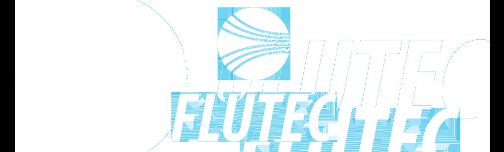 White Flutec Logo
