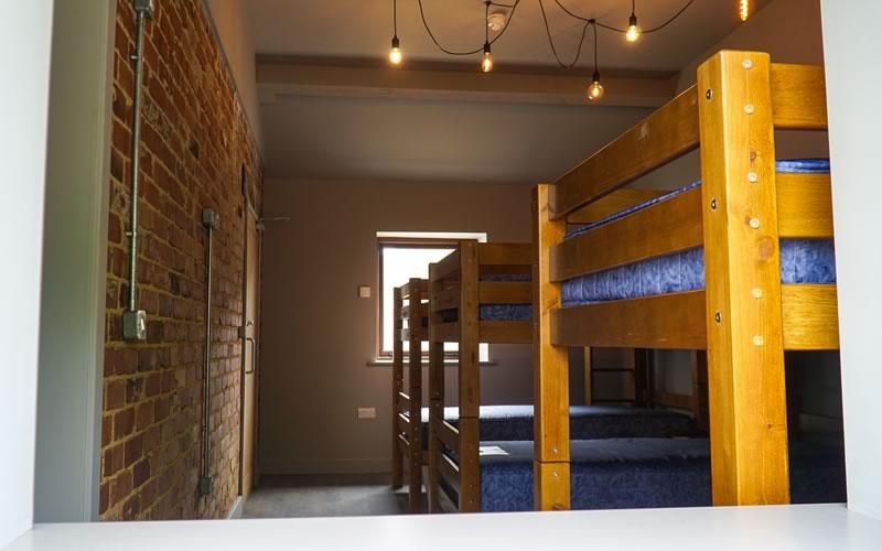 View of bedroom in Bunkroom 2