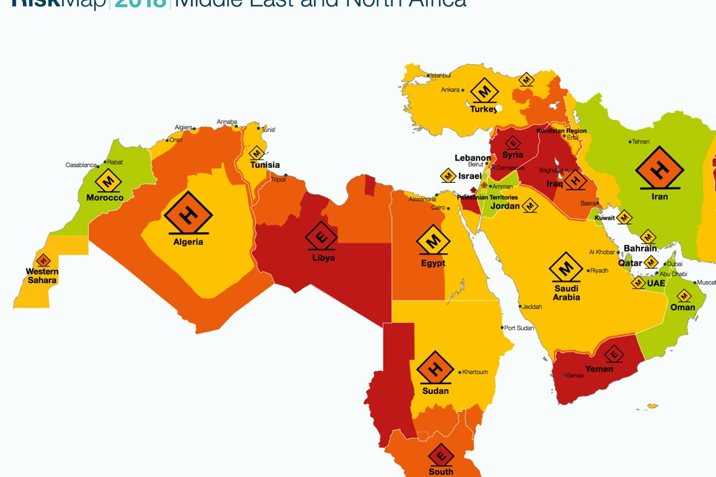 Dubai: Control Risks RiskMap 2018 Conference