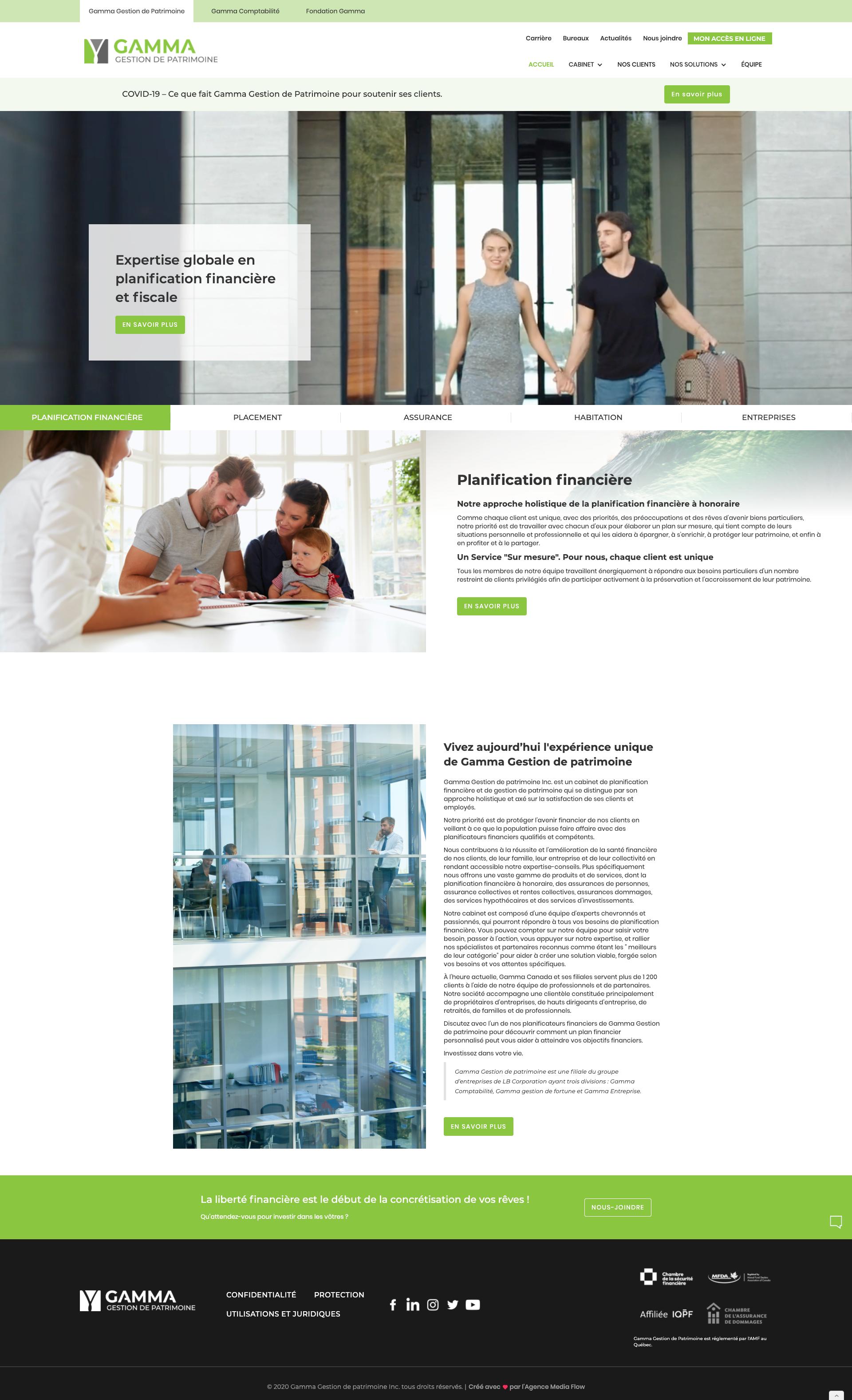 Conception de site web Laval