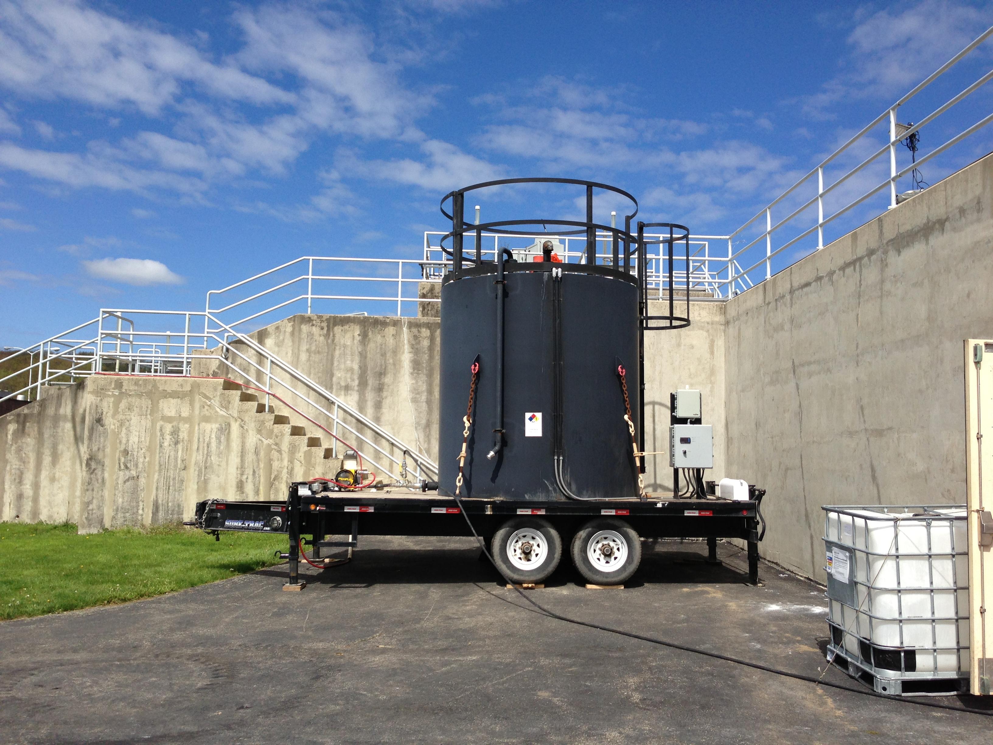 3,000 gallon total capacity, 460V or 230V 1PH