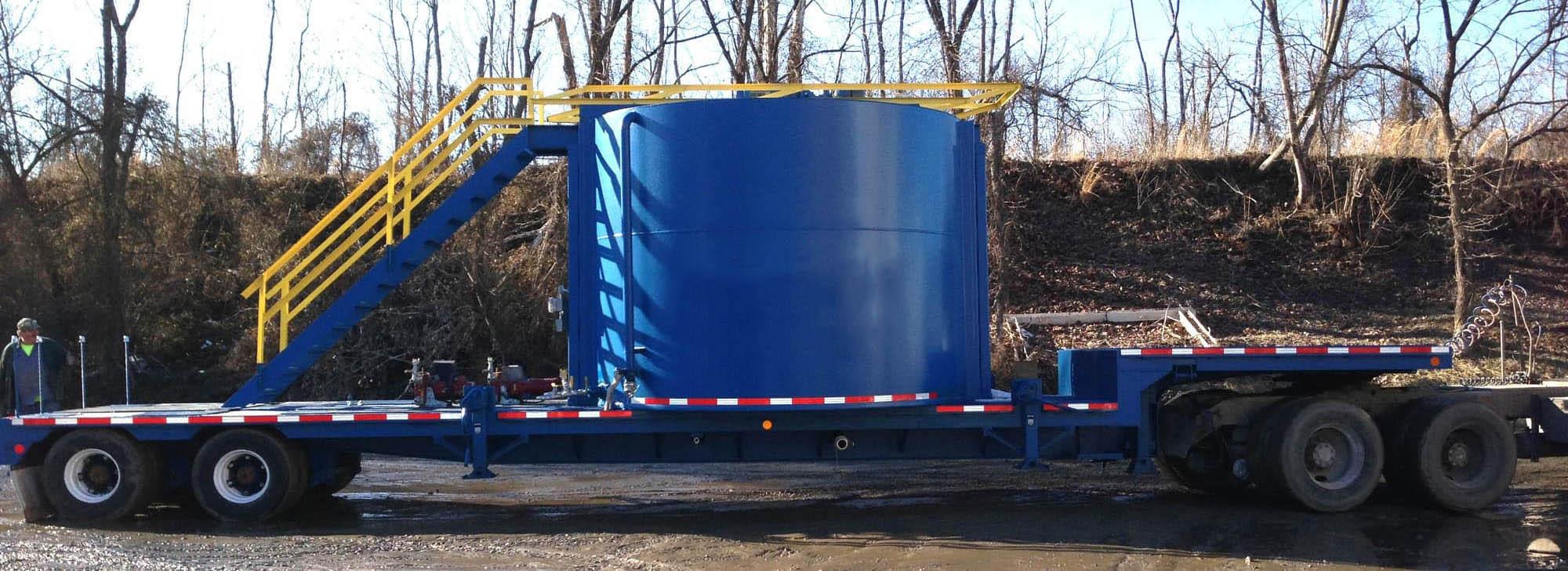 7,000 gallon total capacity, 460V