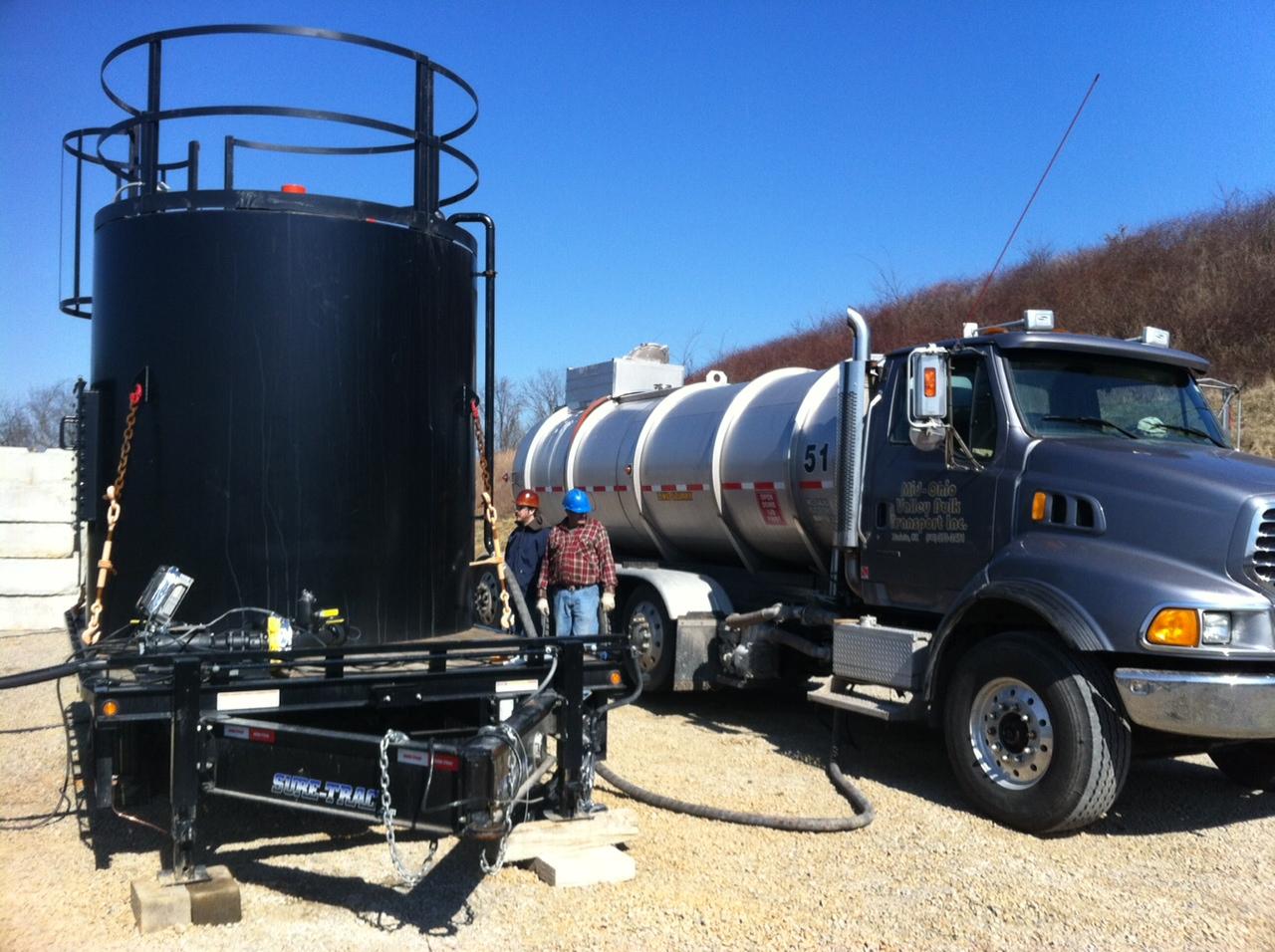 3,000 gallon total capacity, 460 V or 230V 1PH