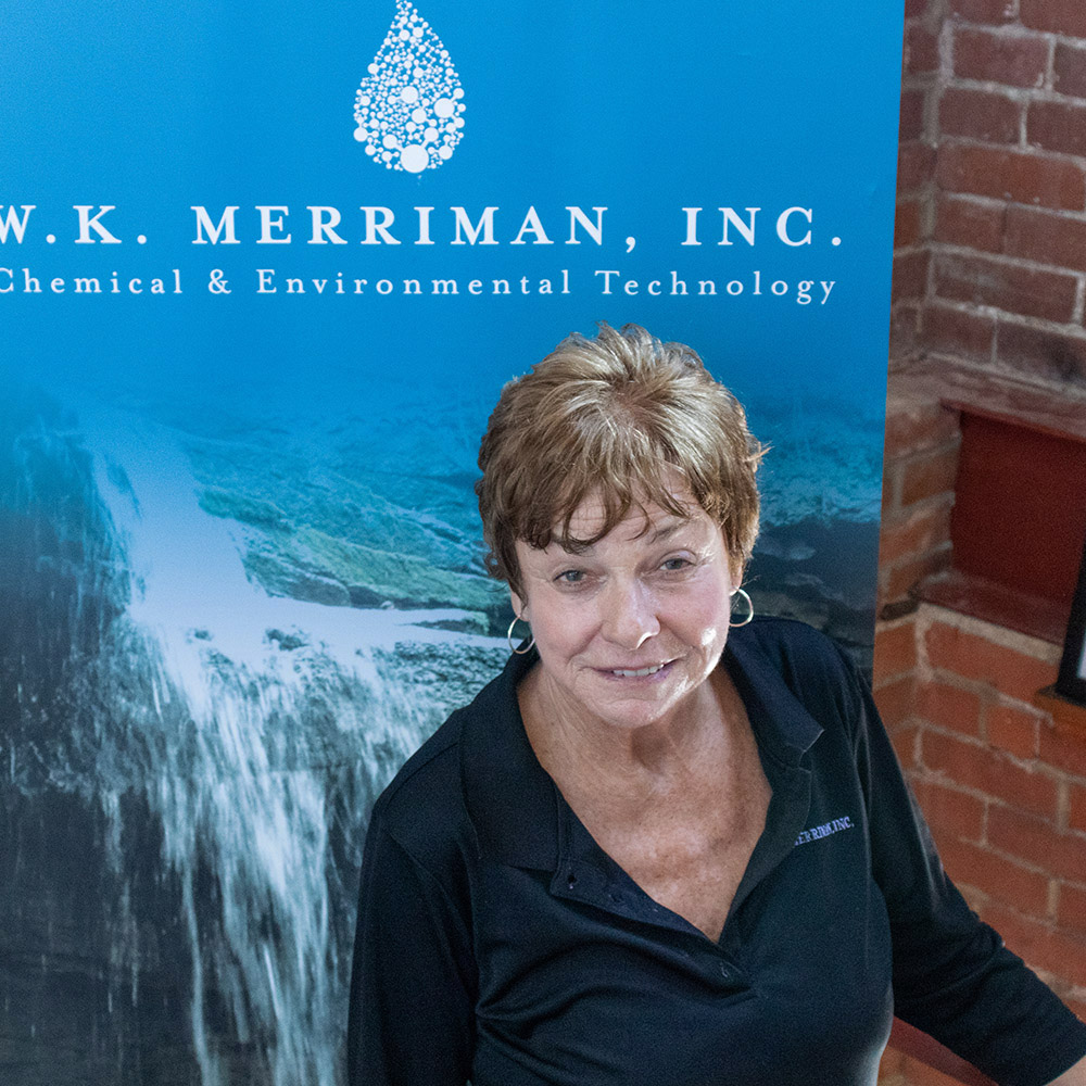 Headshot of Owner and CEO Mary Ann Merriman