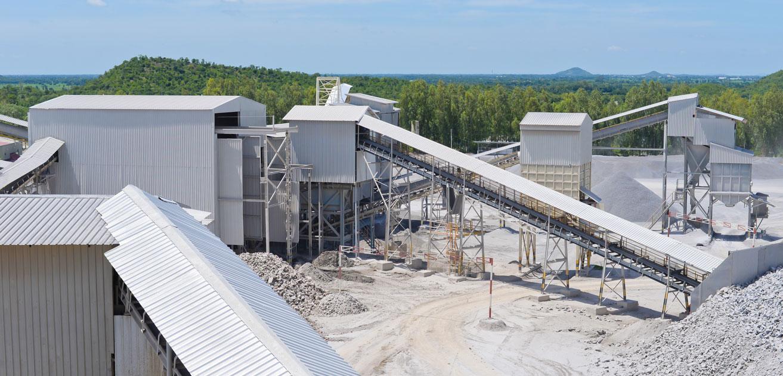 Lime Quarry Production