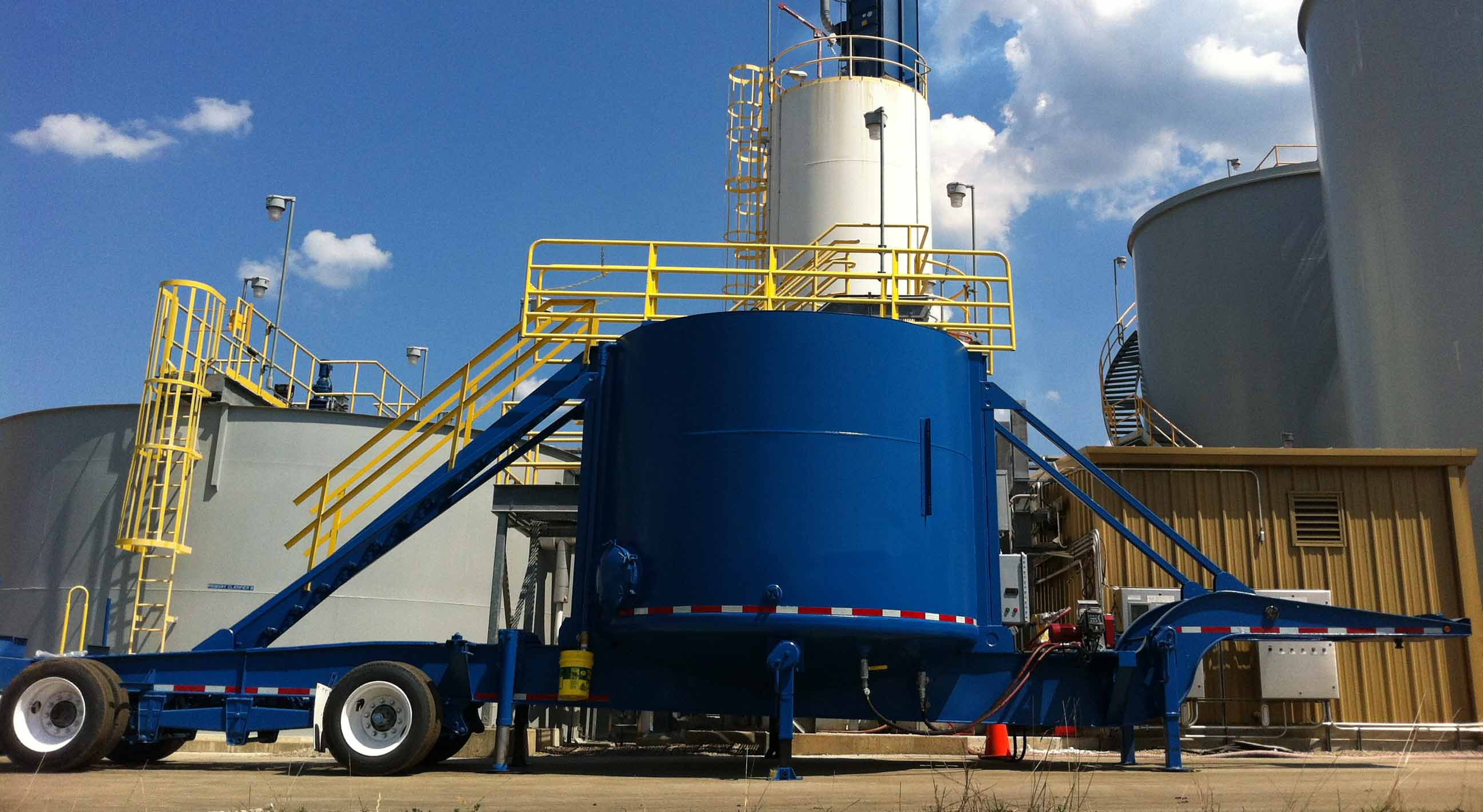 7,600 gallon total capacity, 460V