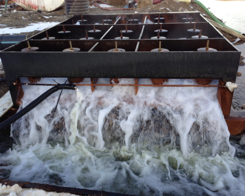 Lime Slurry Feed with Oxidation