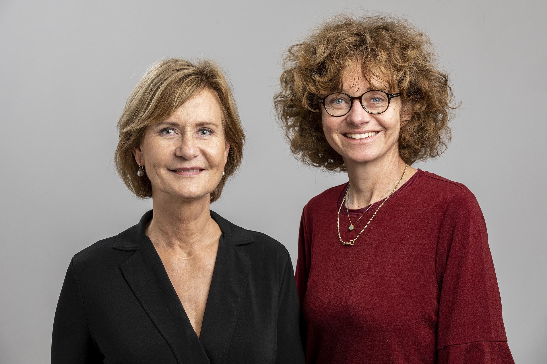 Anke Huizenga en Simone Meertens