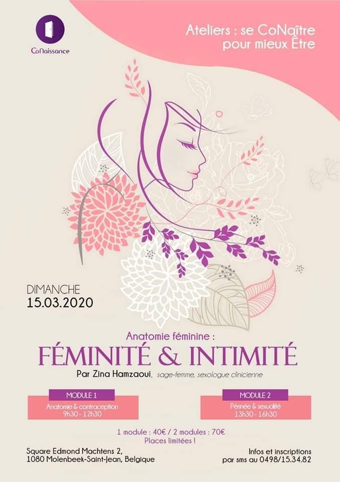 Affiche de l'événement Féminité et intimité
