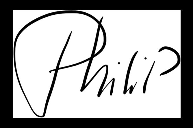 Handtekening Philip