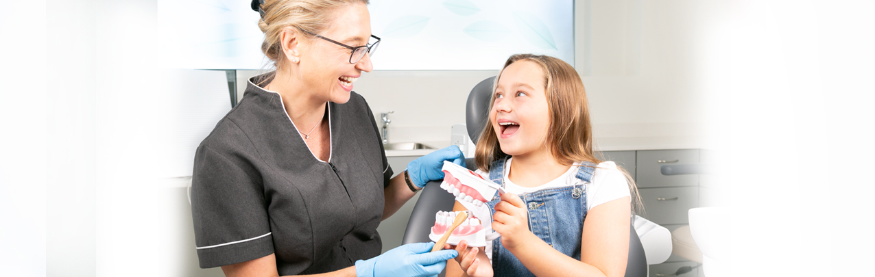 Rogers Dental treats children's dental care with kindness and understanding, even for the most anxious and nervous. Dr. Rafaela has a natural ability to put anyone at ease with her professional and calming nature.