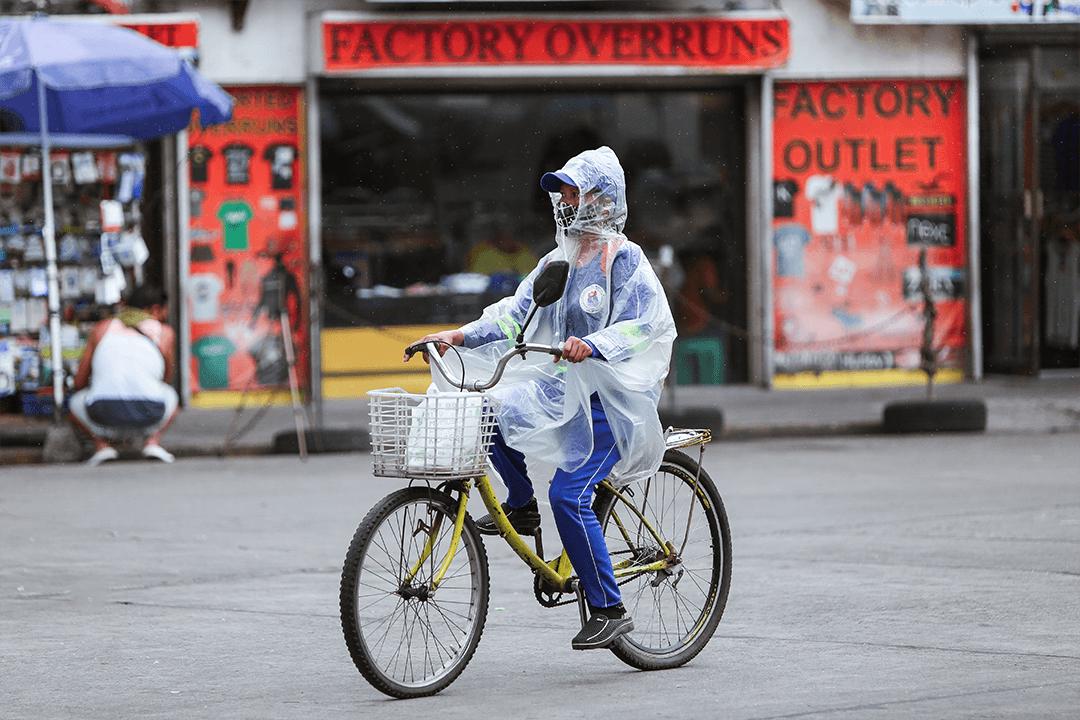 Bluementritt, Manila