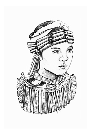 The Mysteries of Being Filipino - Indigenous Tribeswoman