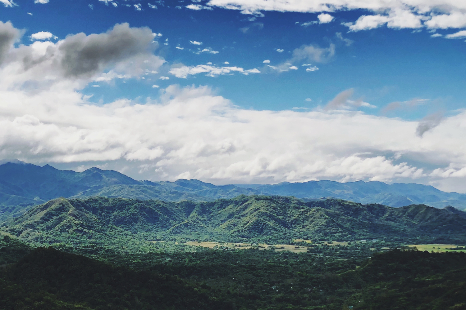 Landscape photo of the Sierra Madre mountain range
