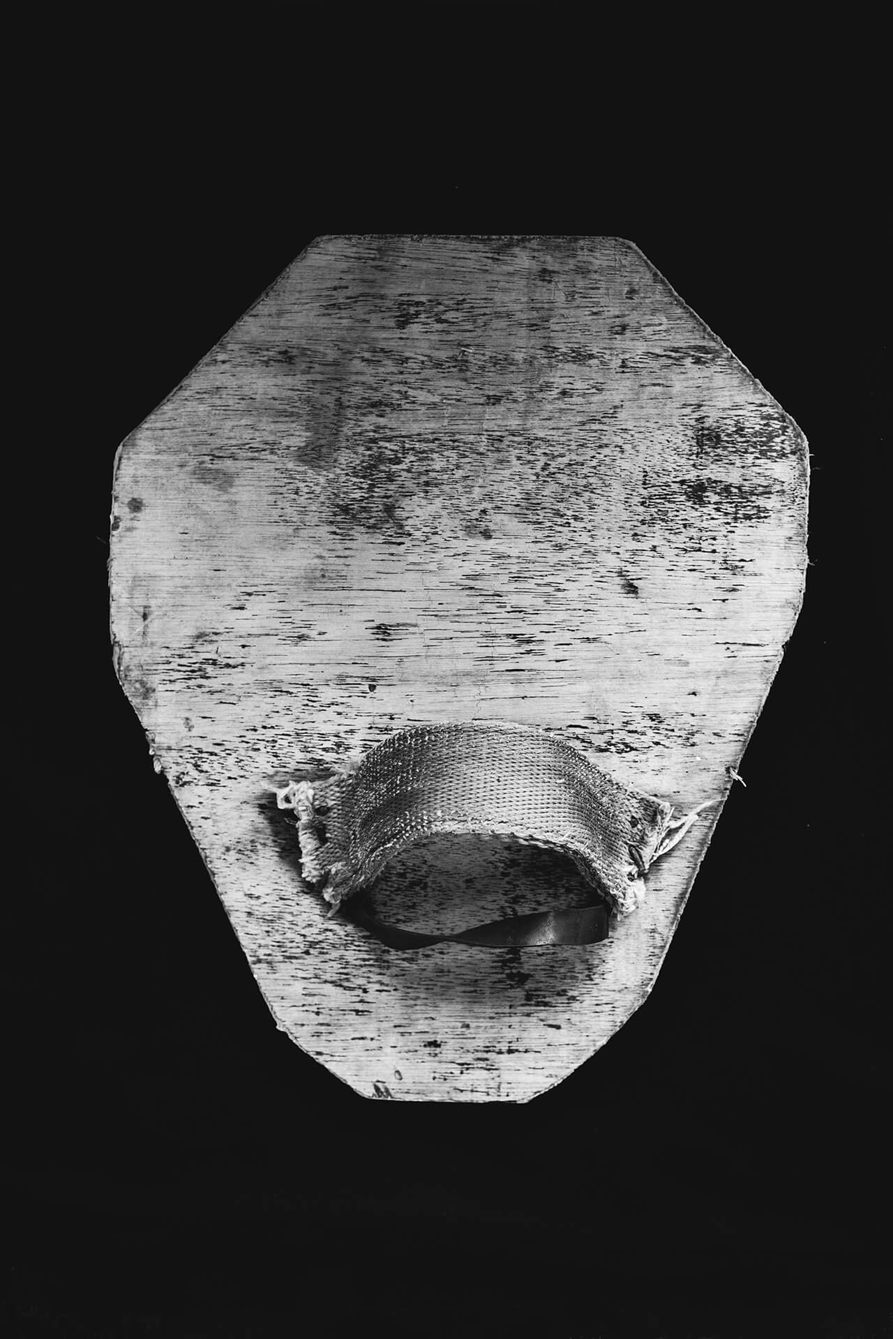 """Wooden flipper colloquially called """"babet"""""""