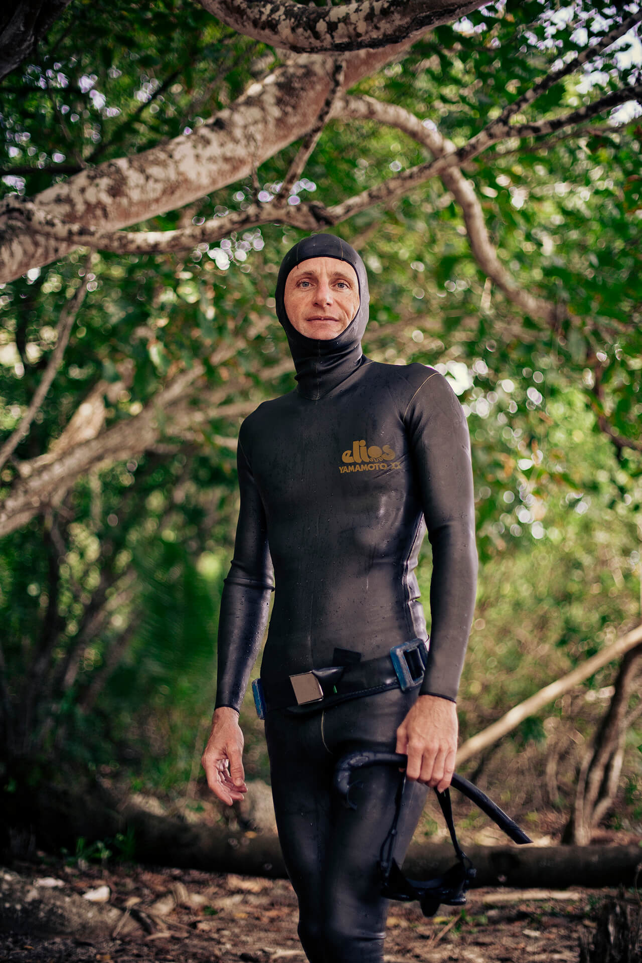 Austrian freediver, Wolfgang Dafert.