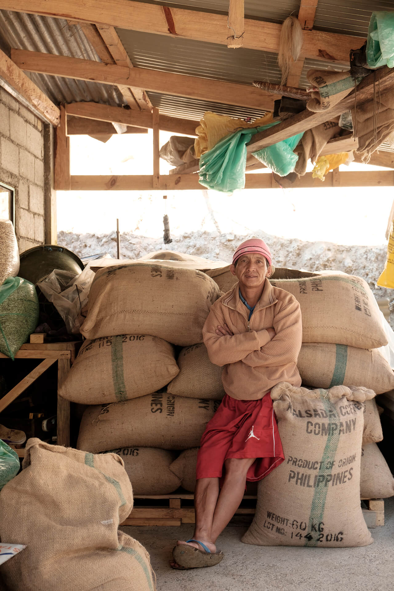 UNCLE SERAFIN. Community leader, farmer, head carpenter and Kalsada Krew's main cheerleader.
