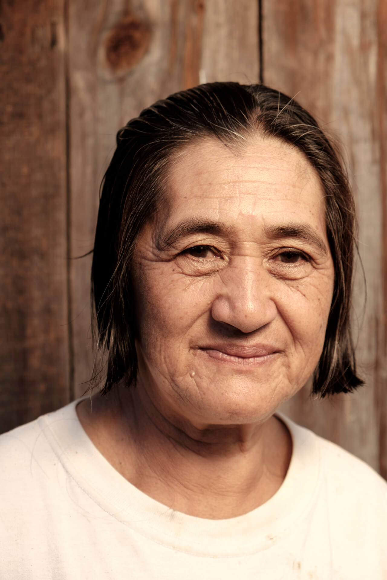 AUNTIE FLORENCE. Mother, farmer, kamote grower, and community storyteller.