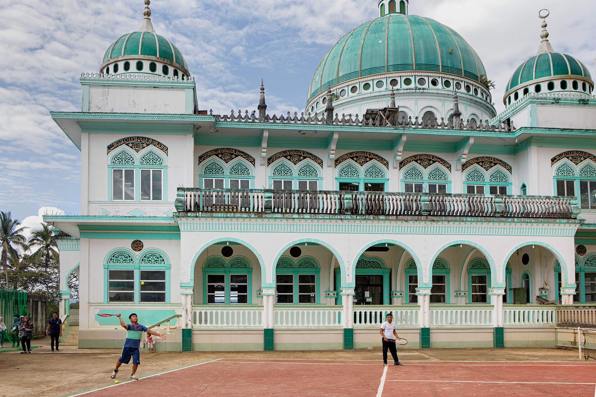 The Dalliman Central Masjid was built by Tugaya's own craftsmen.