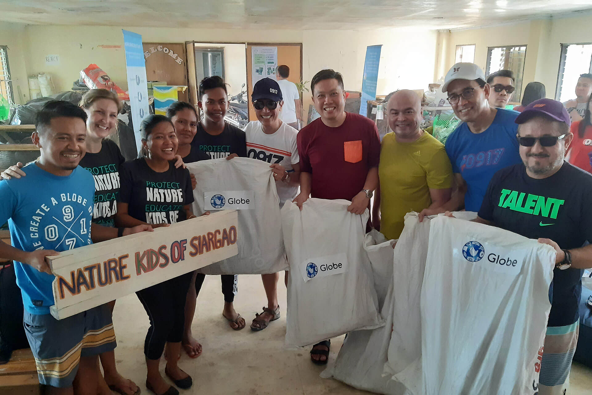 Globe leads activities during Siargao Sustainability Week 2019.