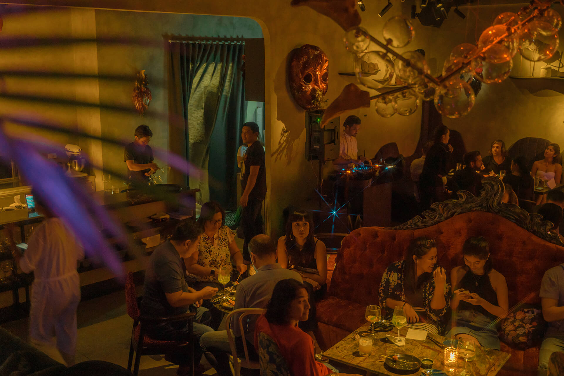 One of the newest additions to Poblacion's eclectic bar scene, KONDWI provides a new dimension to the traditional art gallery.