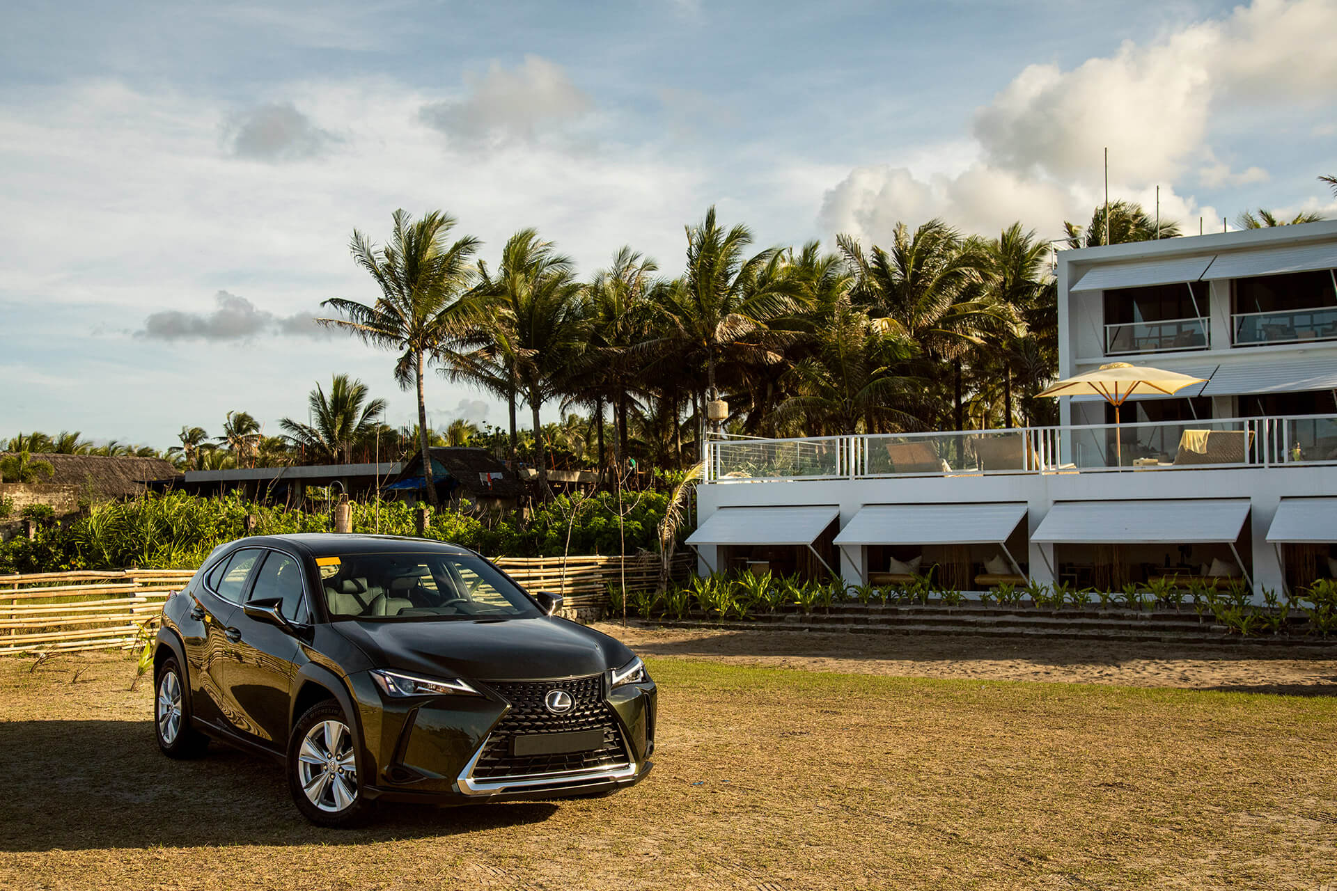 Aboard the latest Lexus UX, Team GRID takes a trip down to the southernmost tip of Luzon and finds comfort and luxury in designs made one with nature.