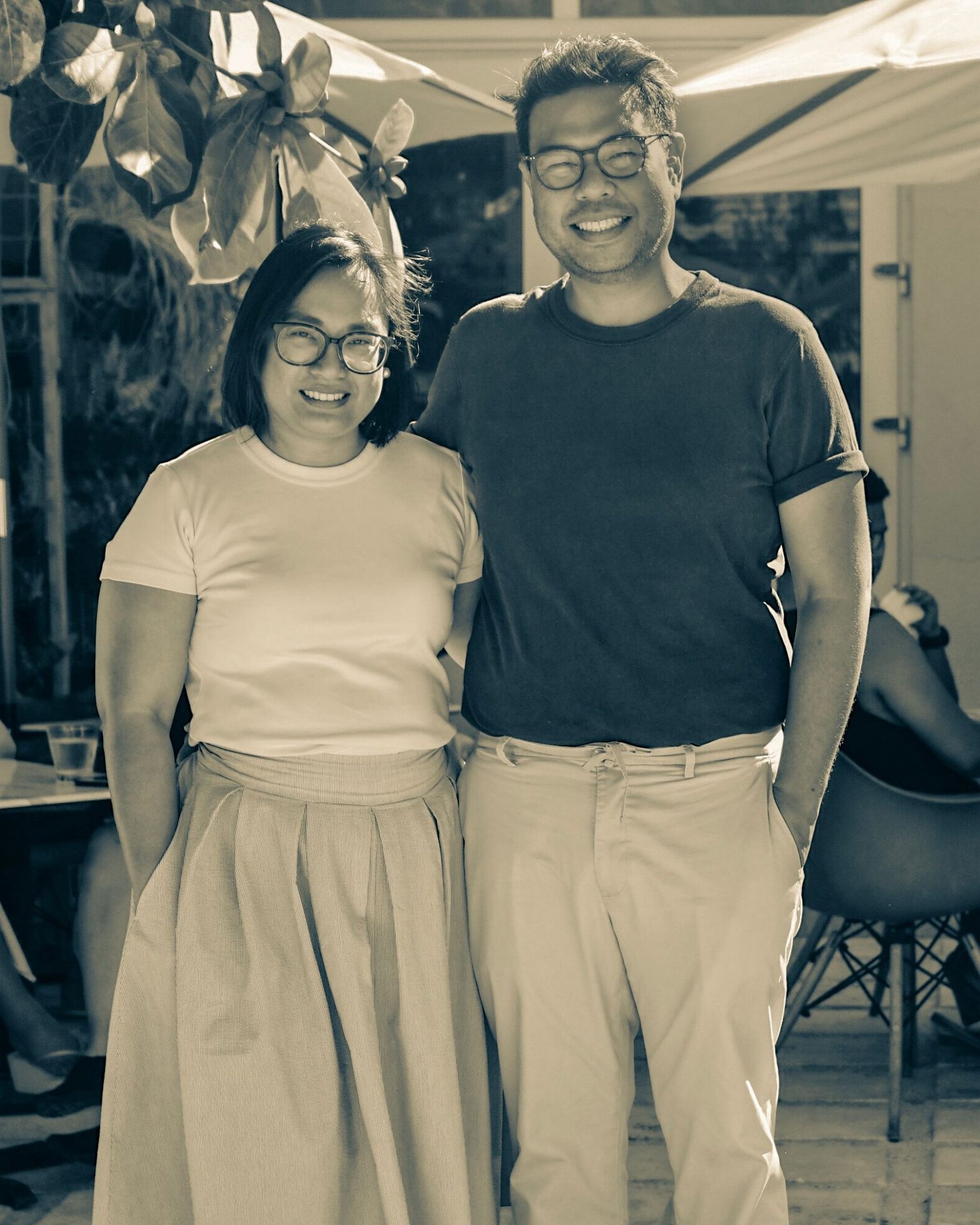 Portrait of Nowie and Odette Potenciano