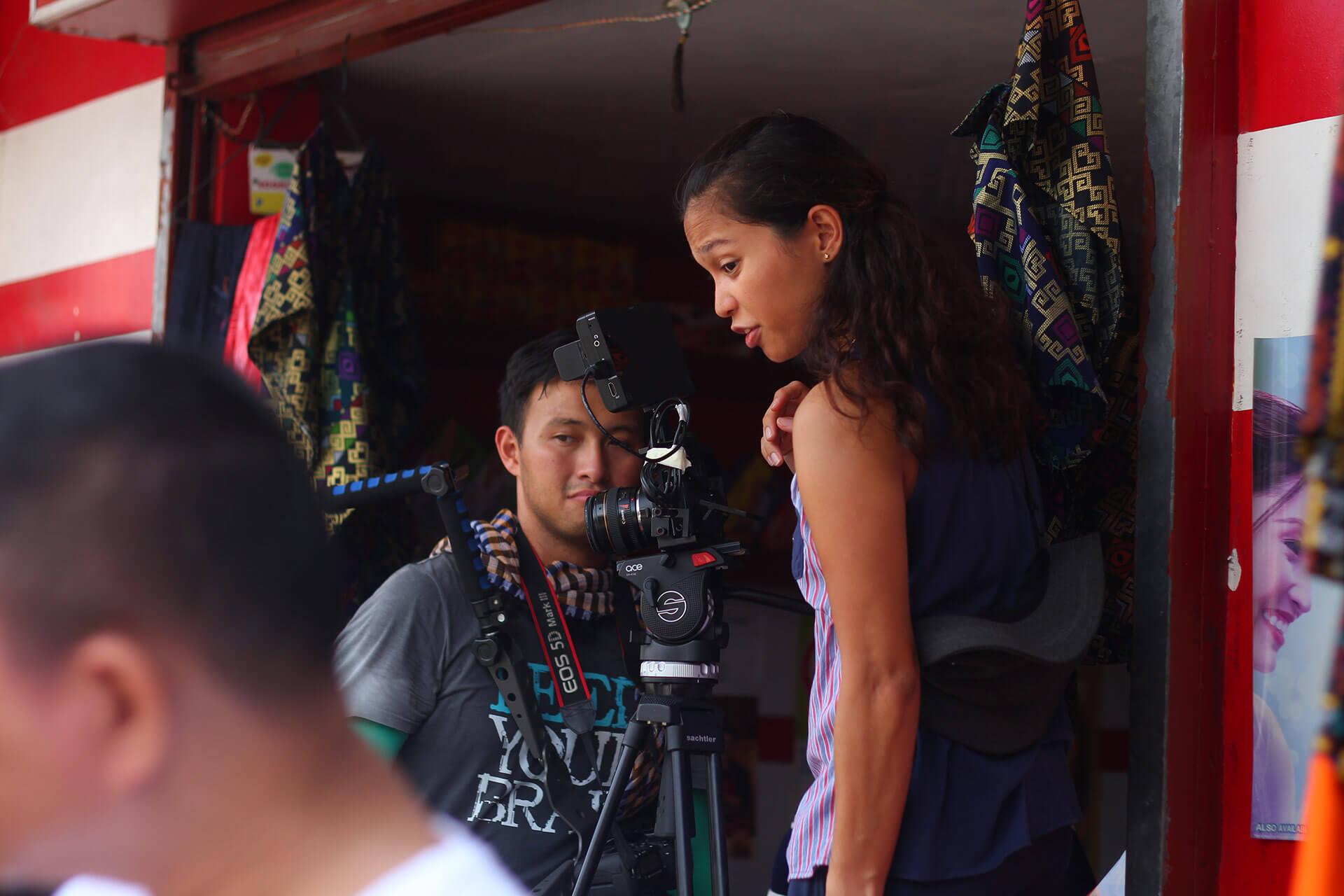 Cinematographer and Director, Ice Idanan.