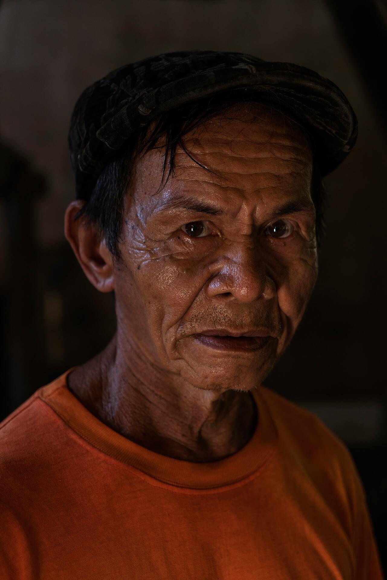 Portrait of Nestor Manongas, the last salt-maker in Albur, Bohol