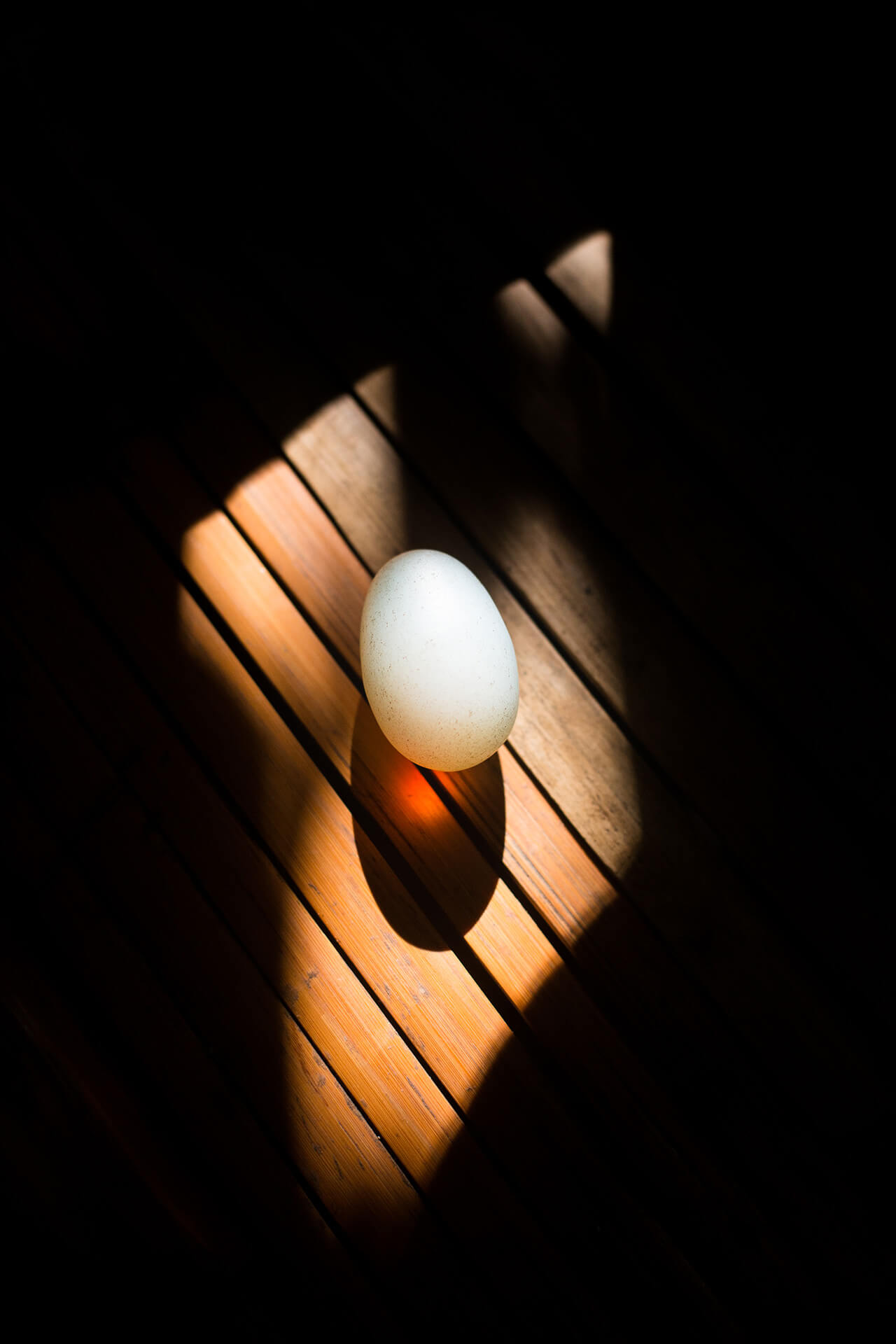 """Mutya—a heavy, luminous egg-shaped stone—which Quirino uses to """"see"""" the causes of people's illnesses."""
