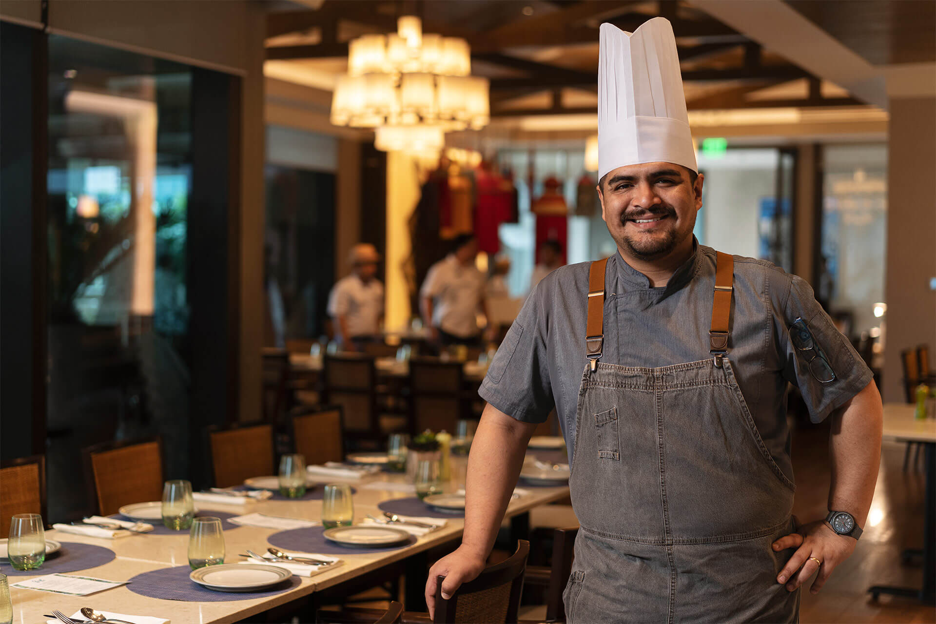 Carlo Huerta Echegaray, head chef of Samba at Shangri-La at the Fort, shares his experience as a Peruvian chef in the Philippines and what it means to connect our cultures through food.