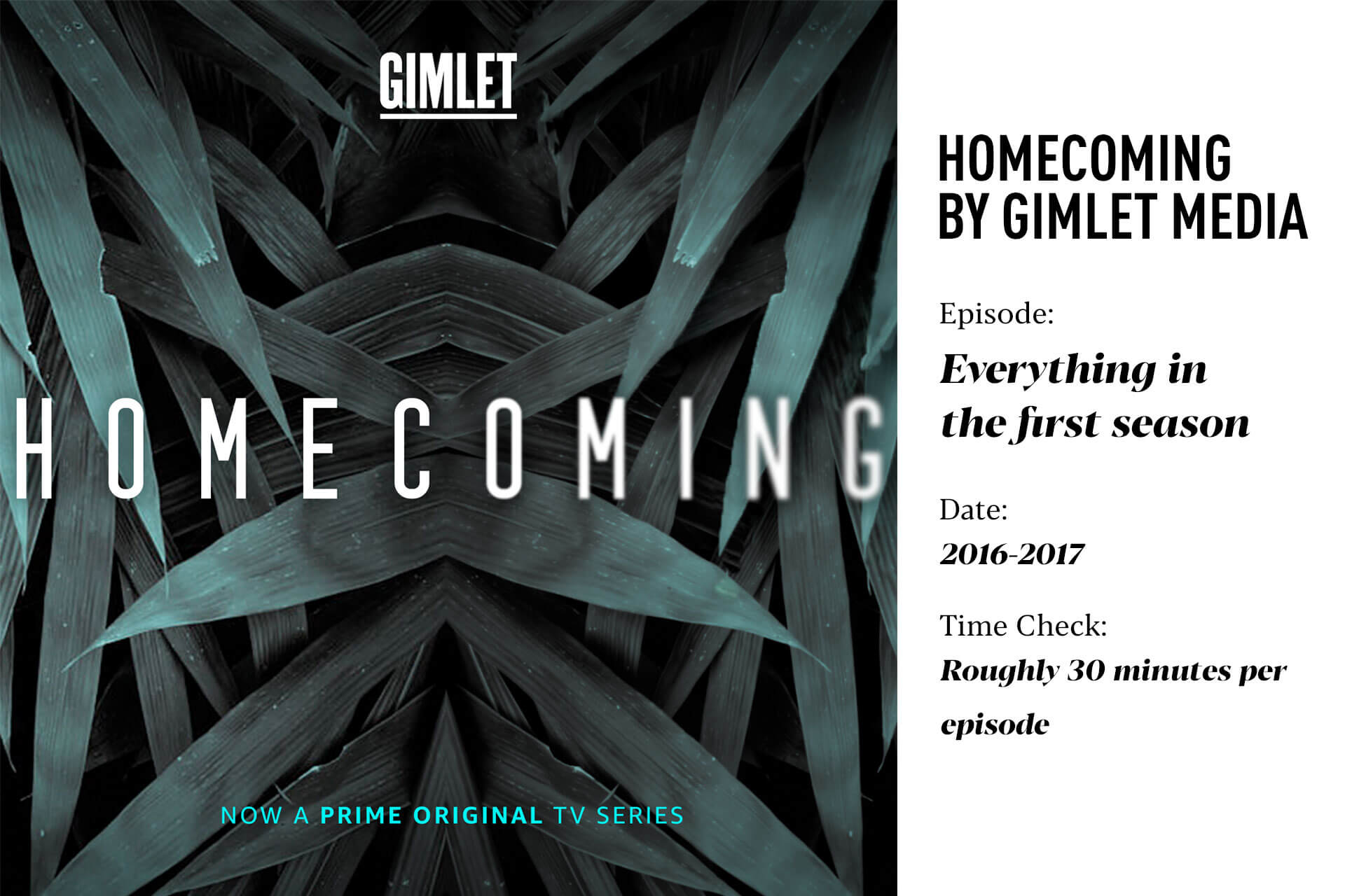 Homecoming by Gimlet Media