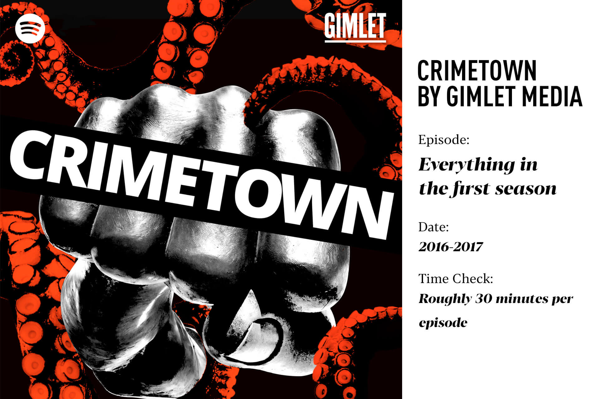 Crimetown by Gimlet Media