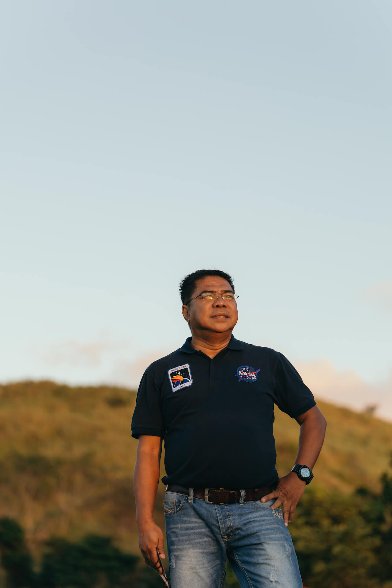 Edmund Rosales of the Philippine Astronomical Society