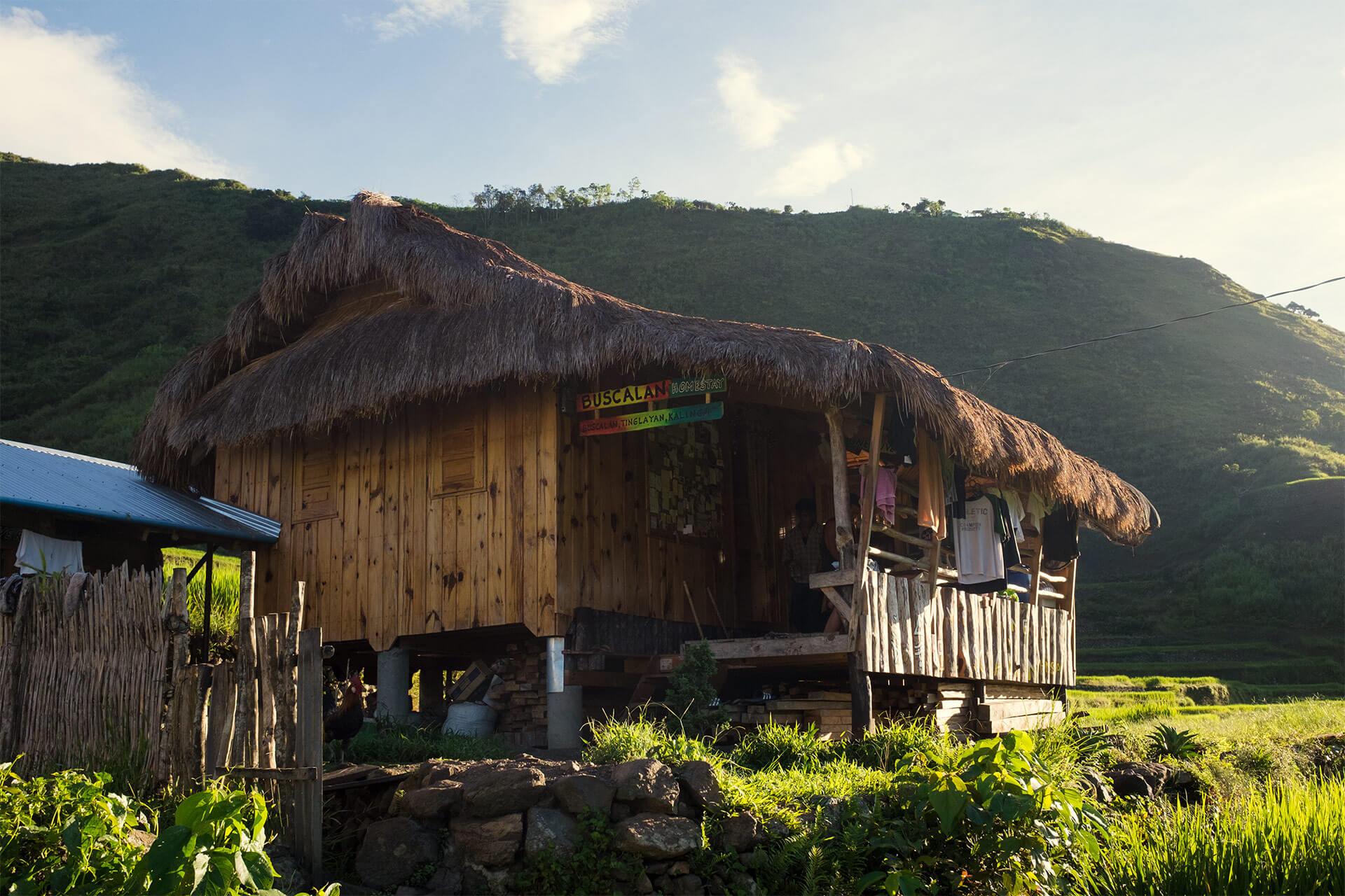Mambabatok hut in Buscalan
