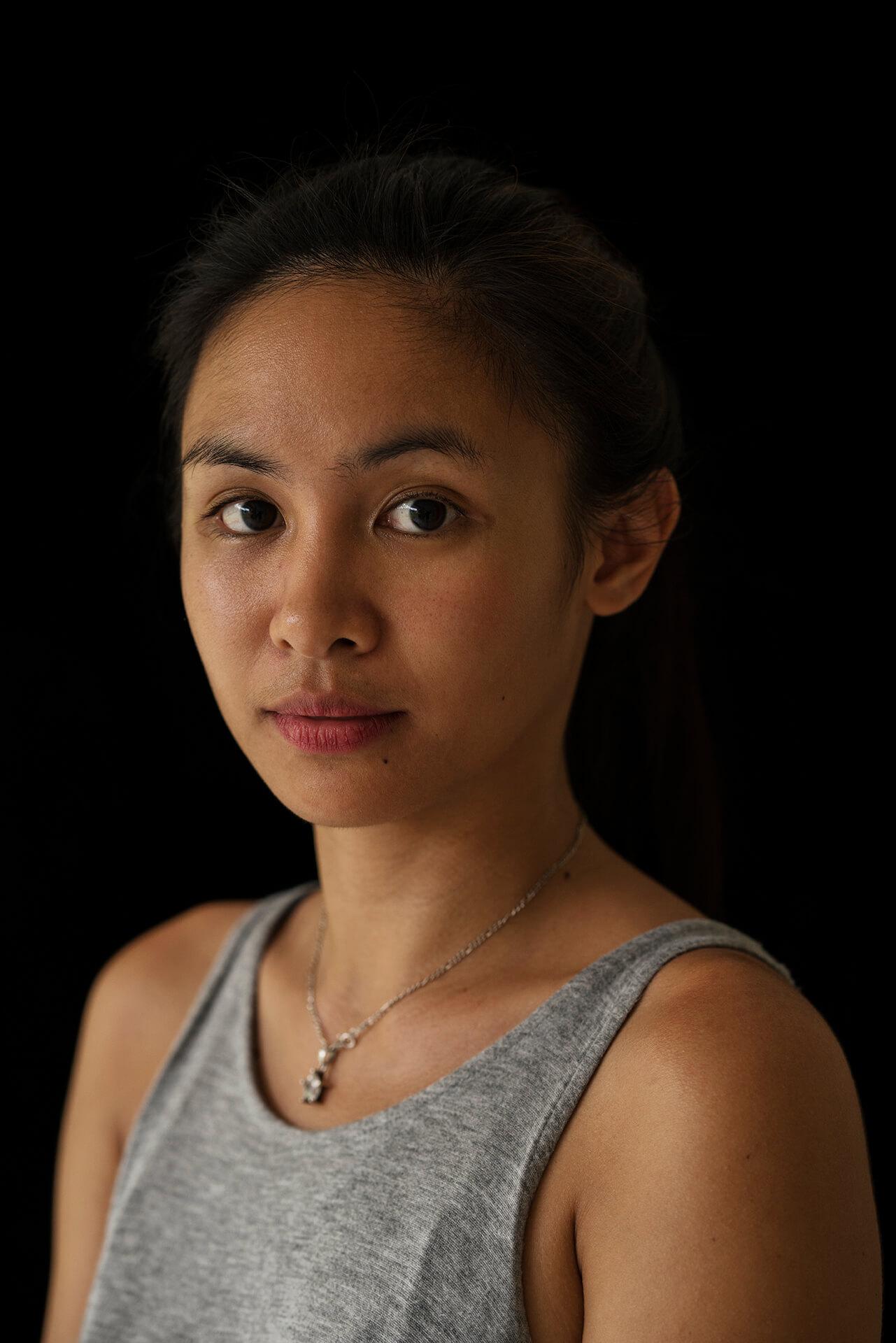 Portrait of marine scientist and conservationist Tara Abrina