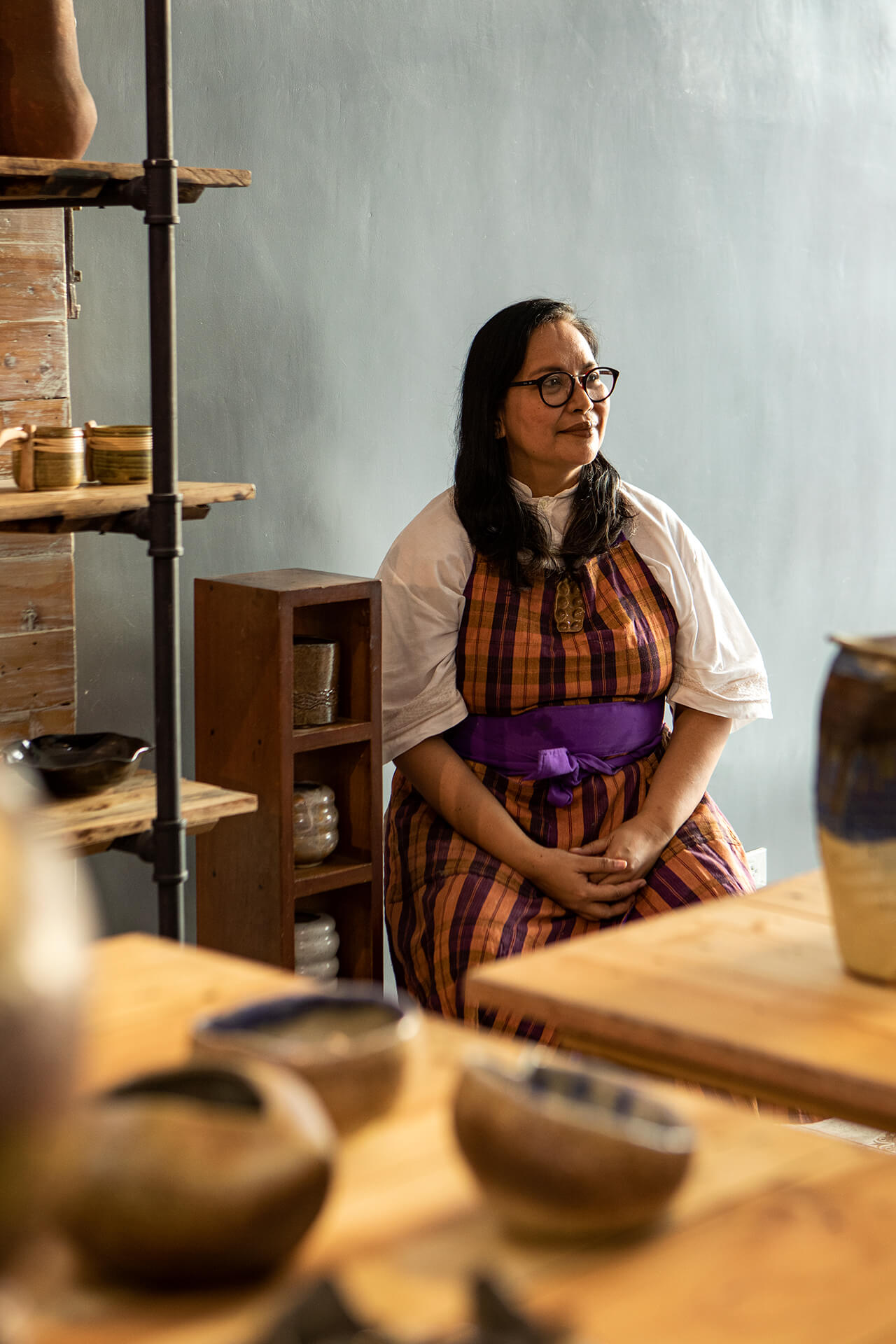 portrait of Rita Gudiño of Tahanan Pottery