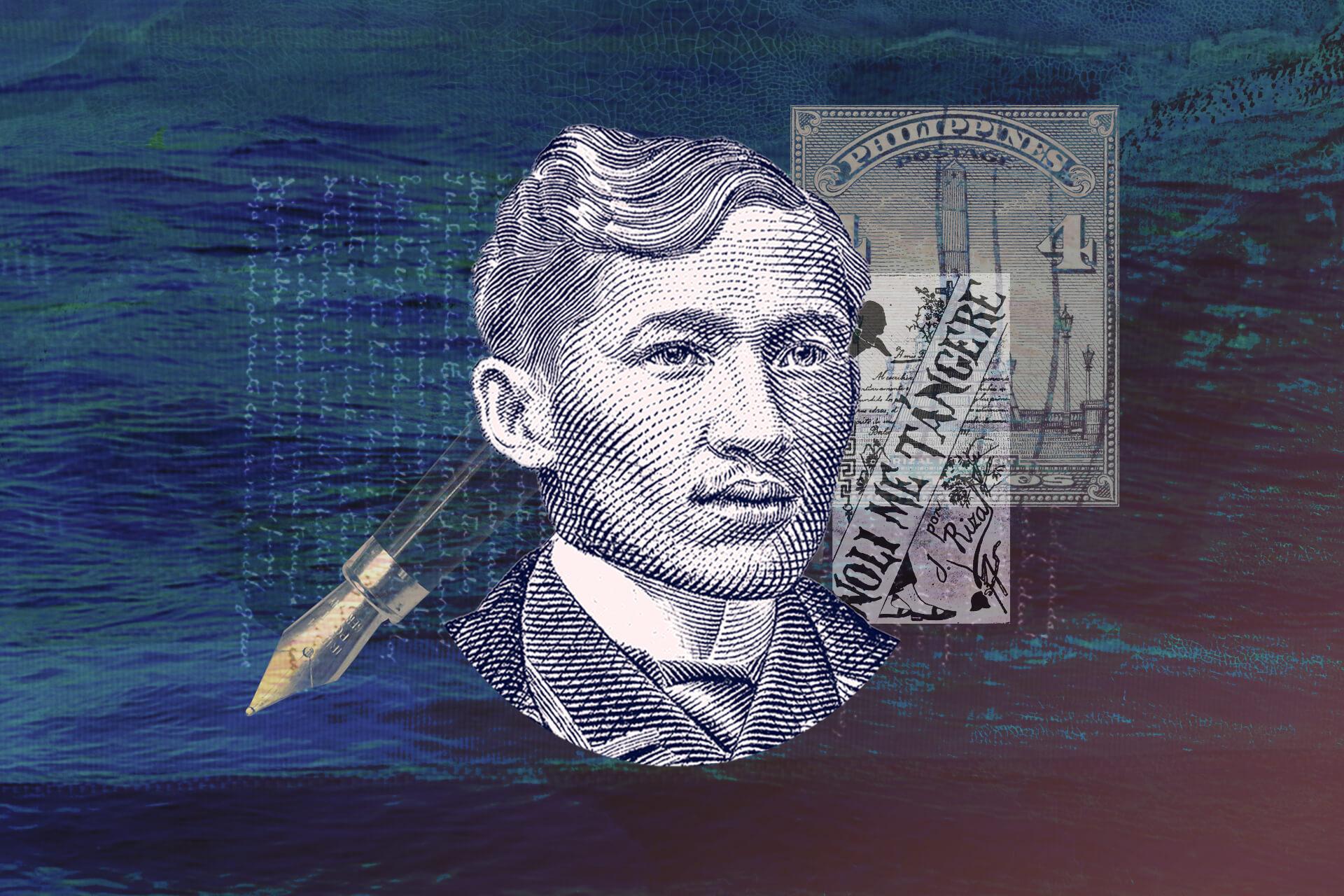 Jose Rizal collage by Regine Salumbre