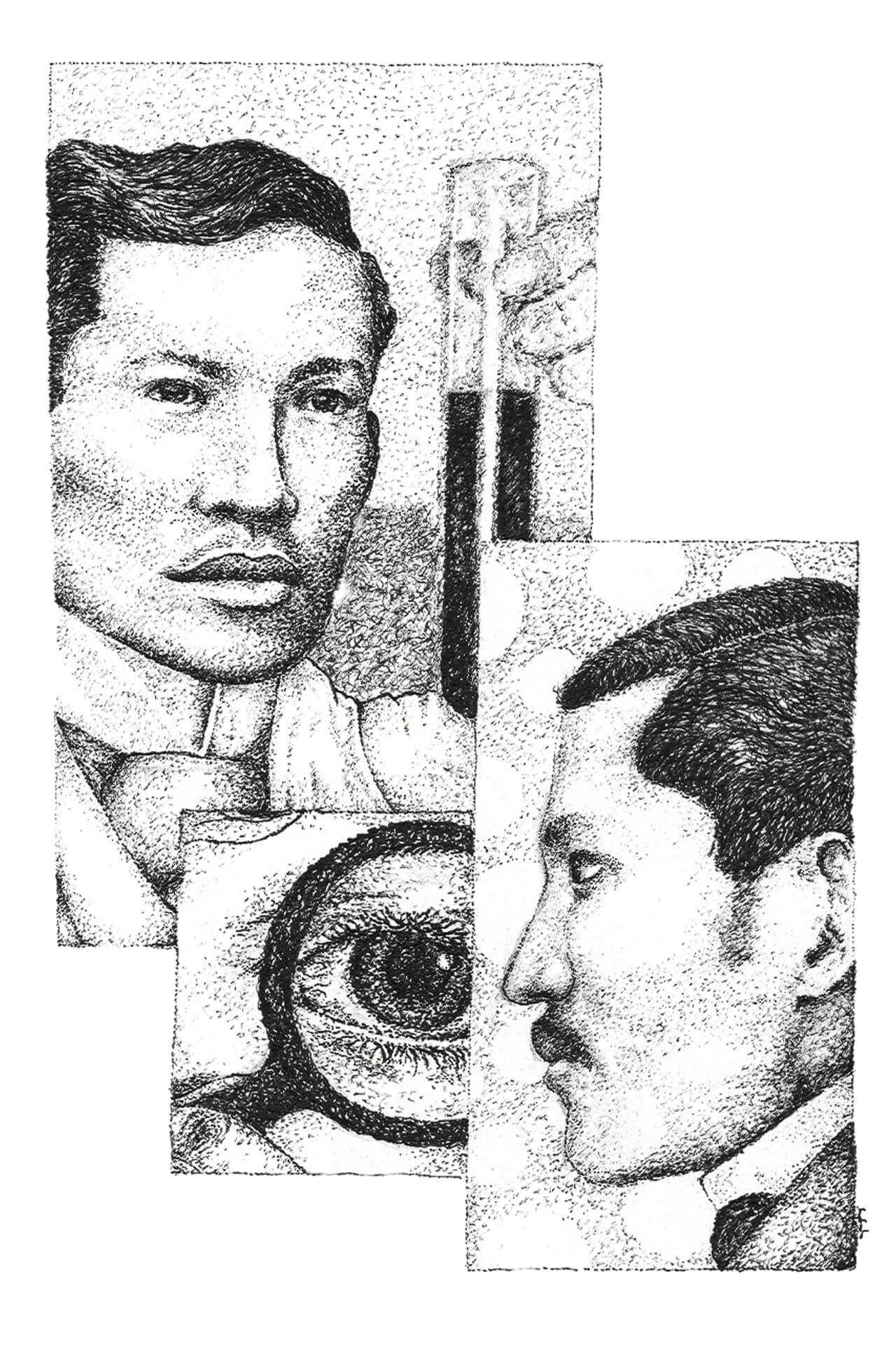 Jose Rizal Philippine National Hero, illustration by Angelo Esperanzate