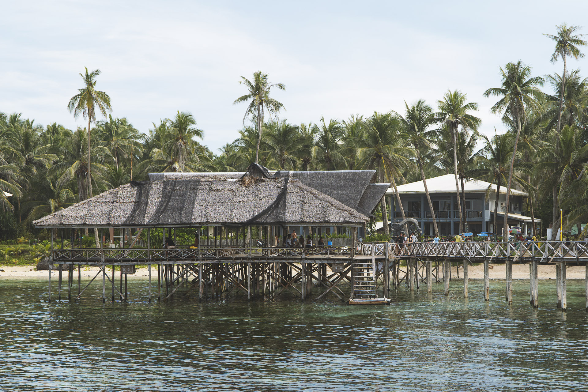 Siargao is a popular destination for surfing around the world.