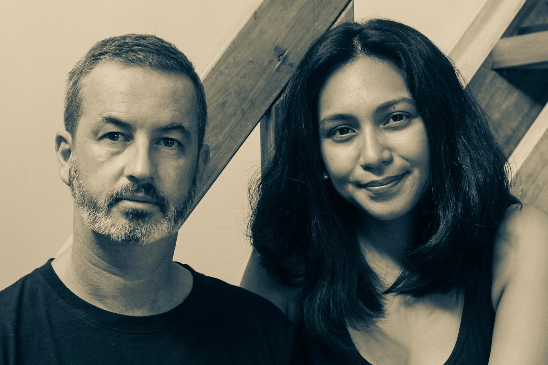 Mica Mitra and Xavier van Borm.
