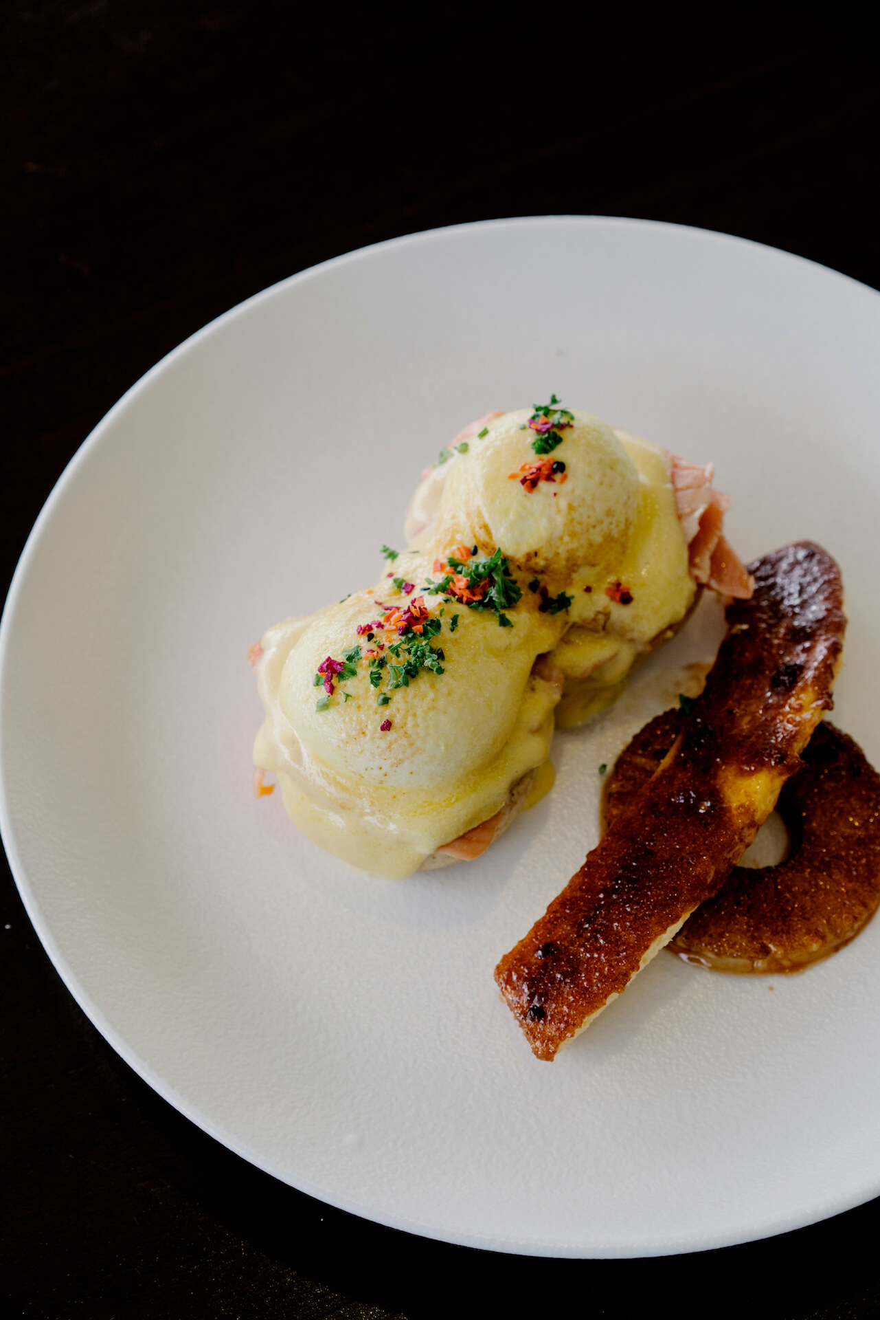 Eggs benedict from Breakfast at Antonio's
