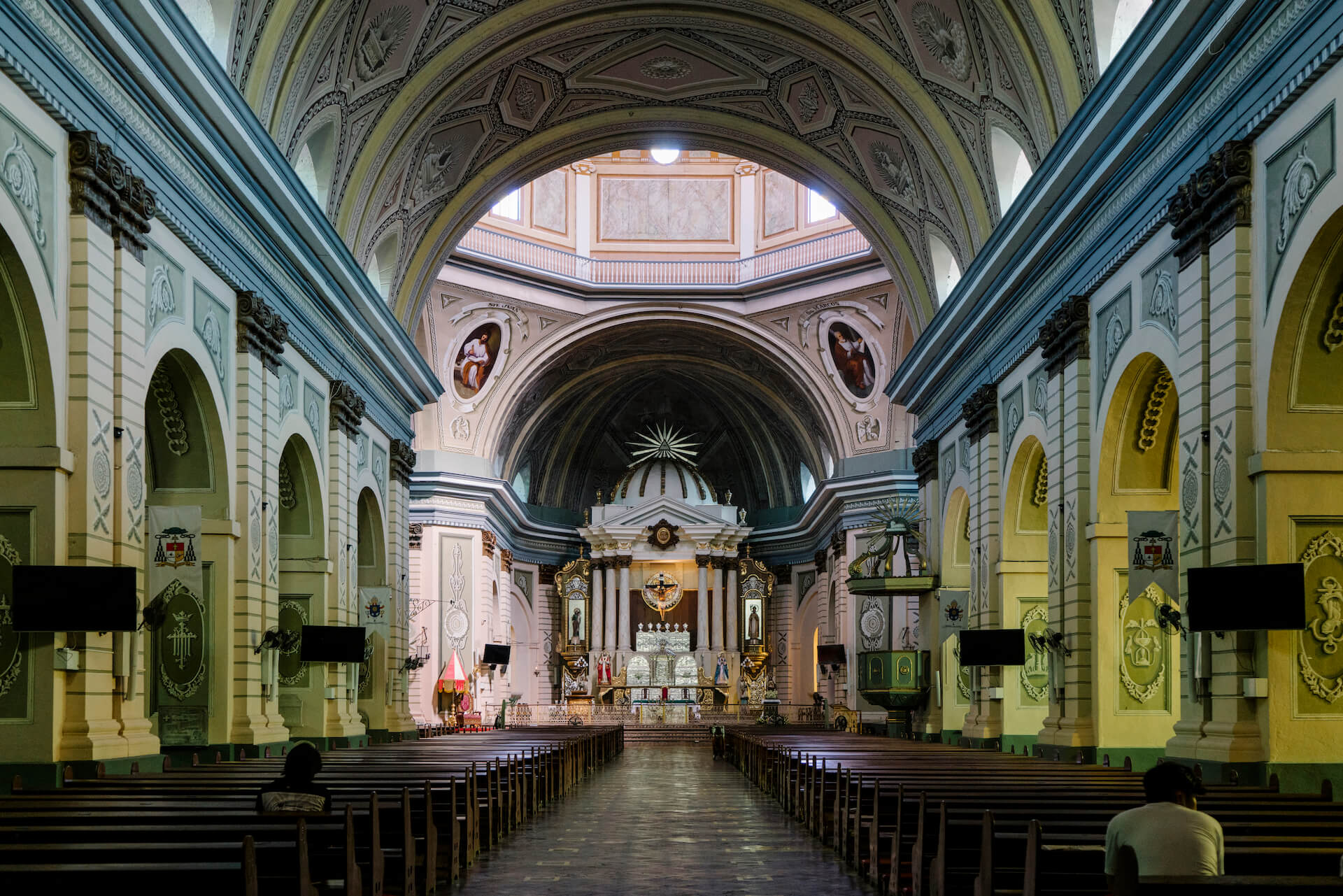 Interior shot of the Basilica of St. Martin of Tours