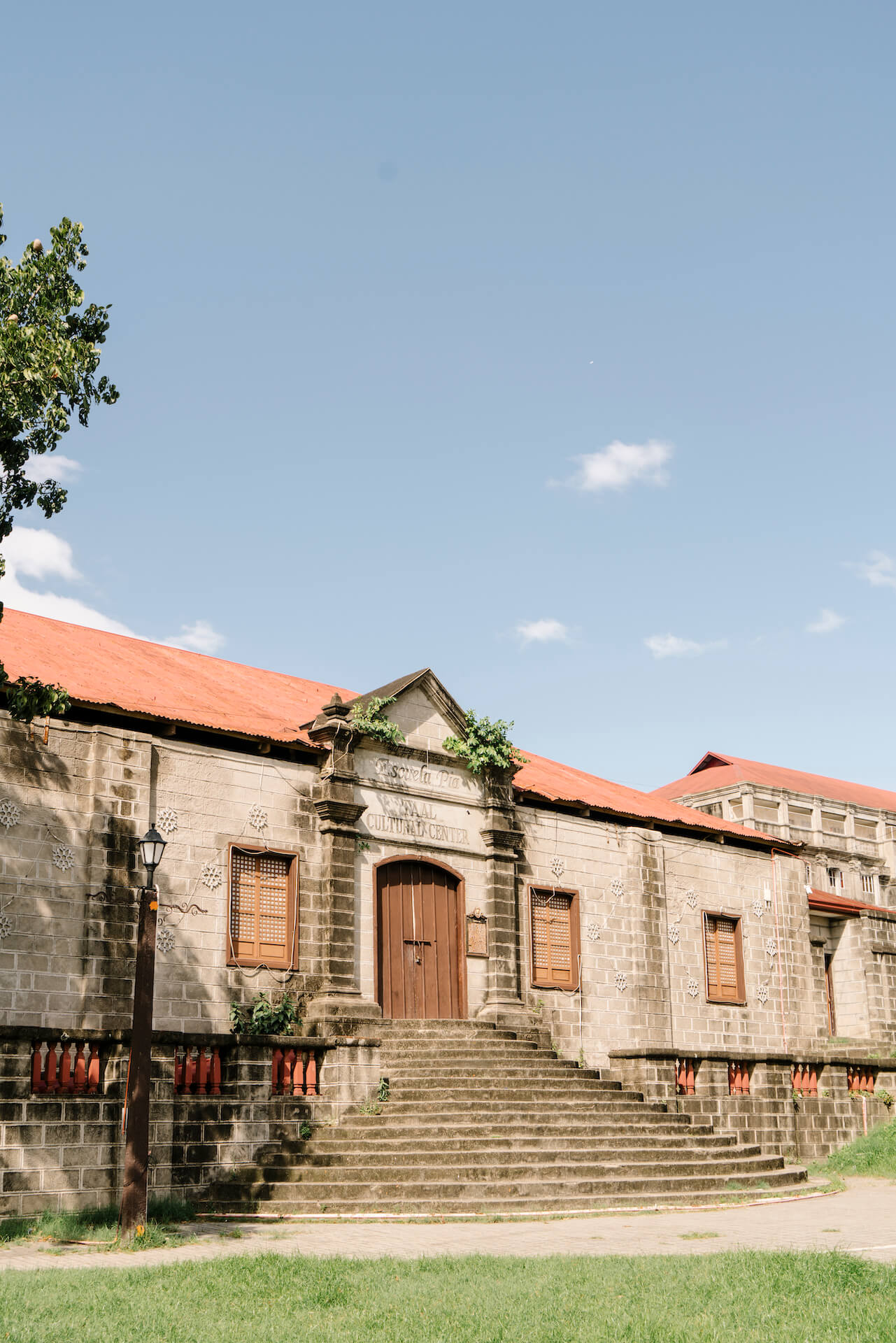Exterior of the Taal Cultural Center