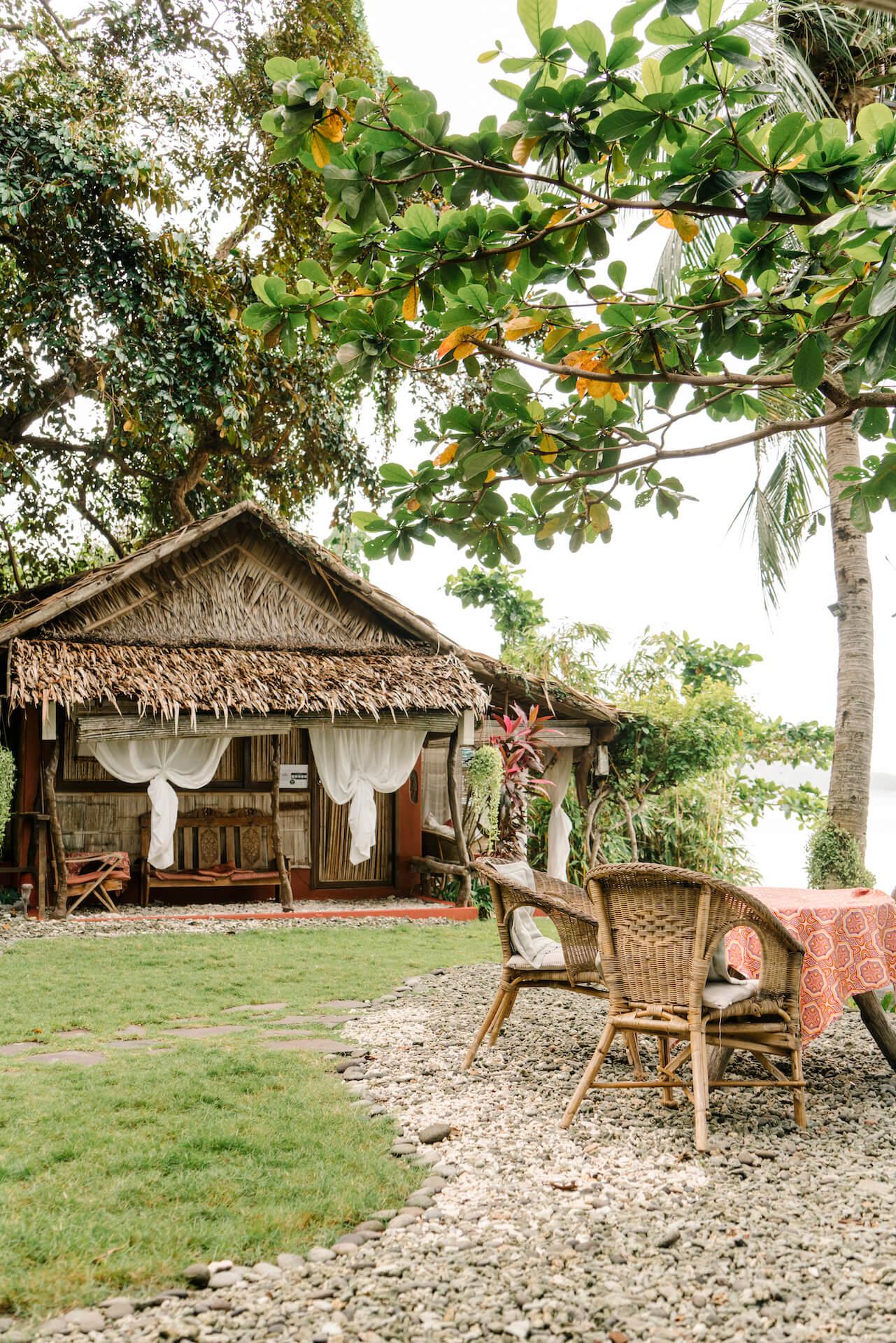Exterior photo of Lilom Resort in Batangas