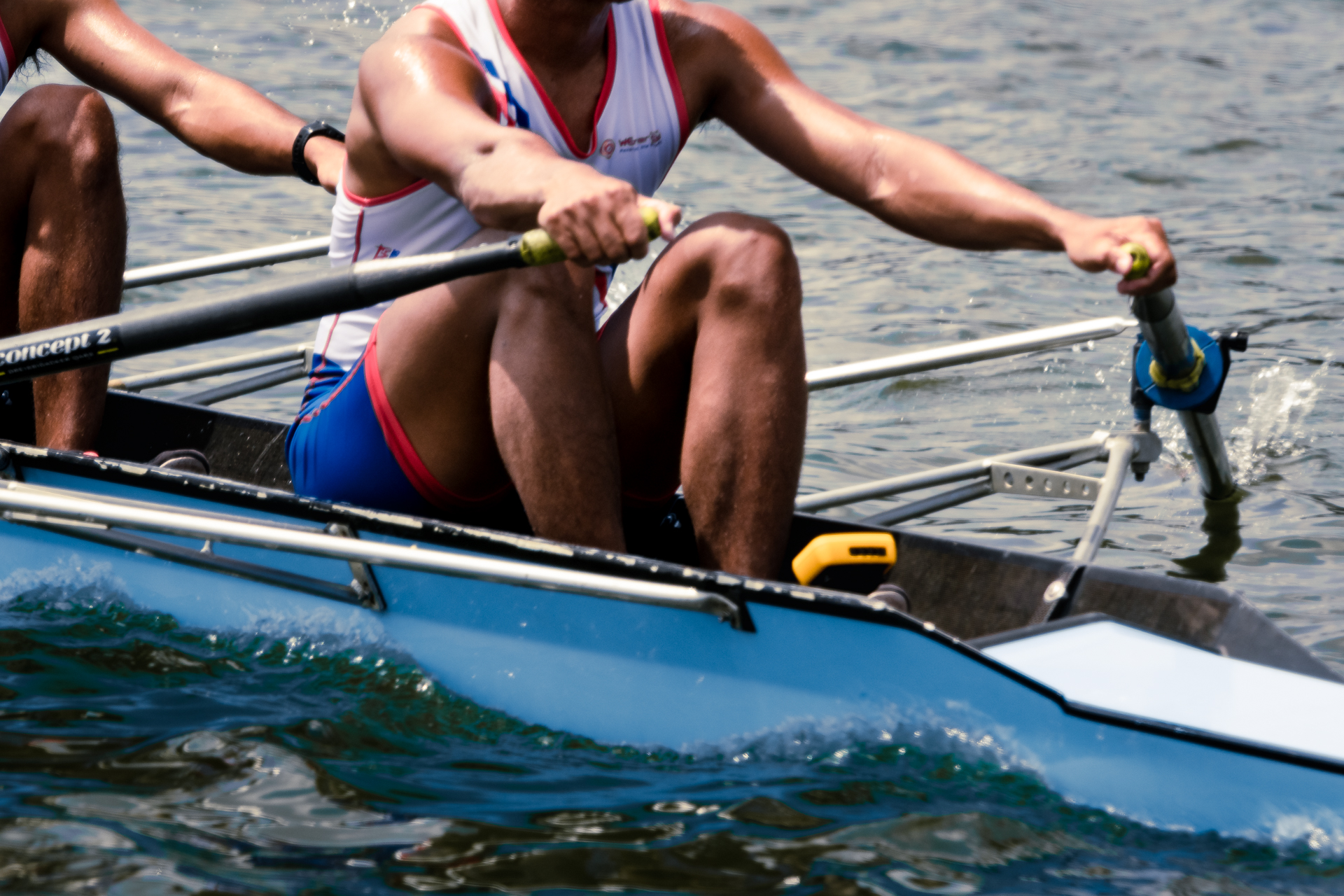 Details of the boats and oars used by the Philippine National Rowing Team