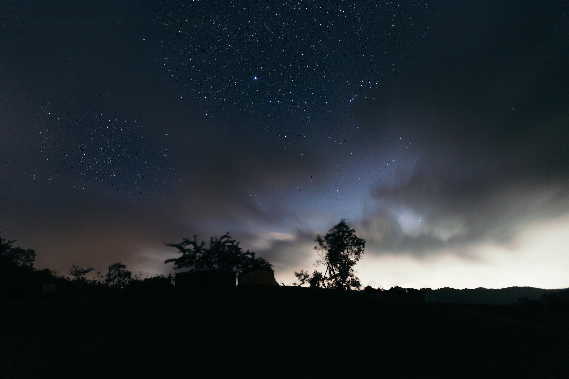 Starry night Tanay Rizal